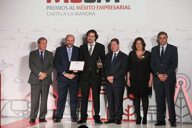 Entrega del Premio al Mérito Empresarial CLM: Economía Social